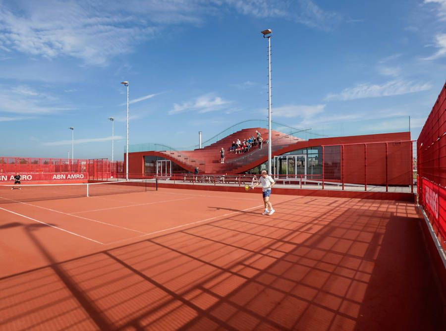 The Couch Tennis Club Architecture Tennis clubs, Tennis