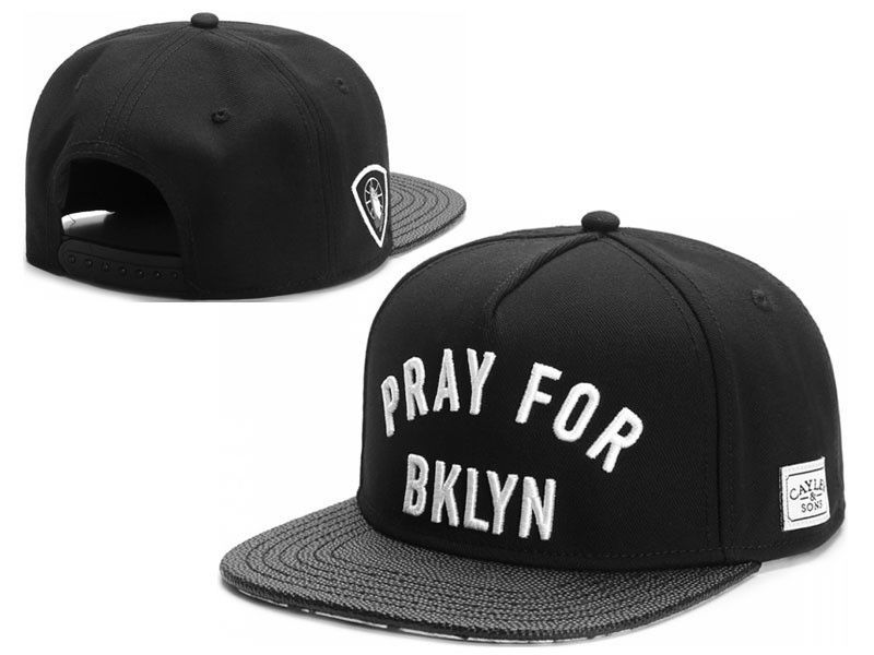 57fb4193c0d2f Pray For Brooklyn Snapback - Cayler   Sons