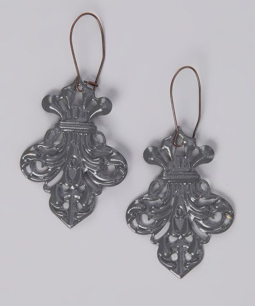 Take a look at this dAffadowndily Gray Abbey Road Earrings on zulily today!
