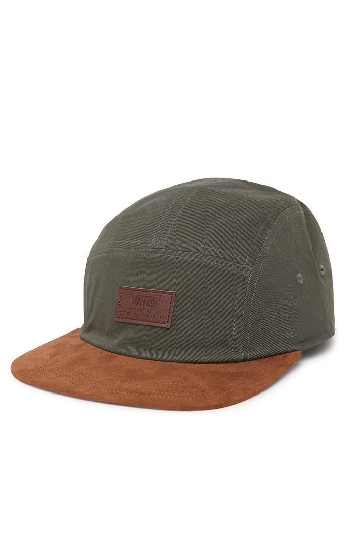 Vans has a solid look for this men s 5 panel hat. The Davis 5 Panel ... d5c5ca4b0e39