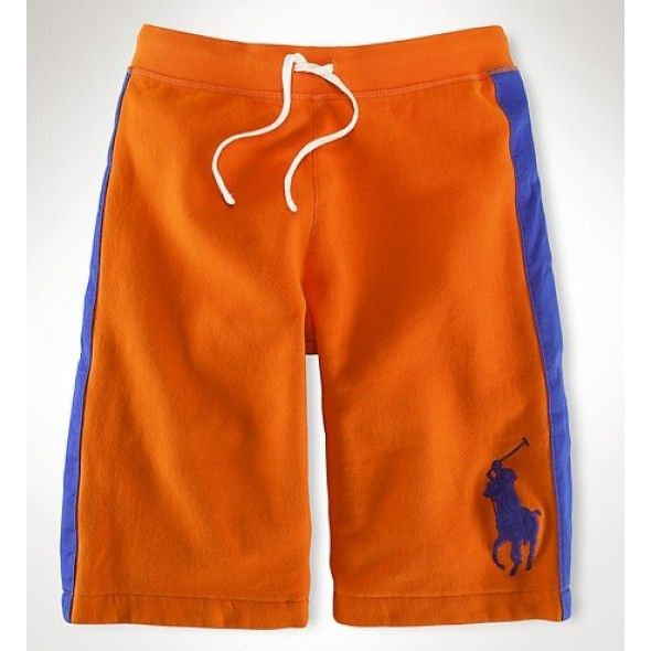 bd03938fda04 Polo Ralph Lauren Refined Leisure Breathable Orange Beach Shorts http   www. ralph