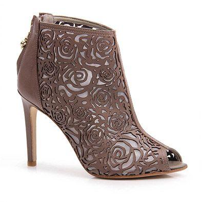 2918f131ae Summer Boots Capodarte 4008071 - Chocolate - Passarela.com Lojas De Moda