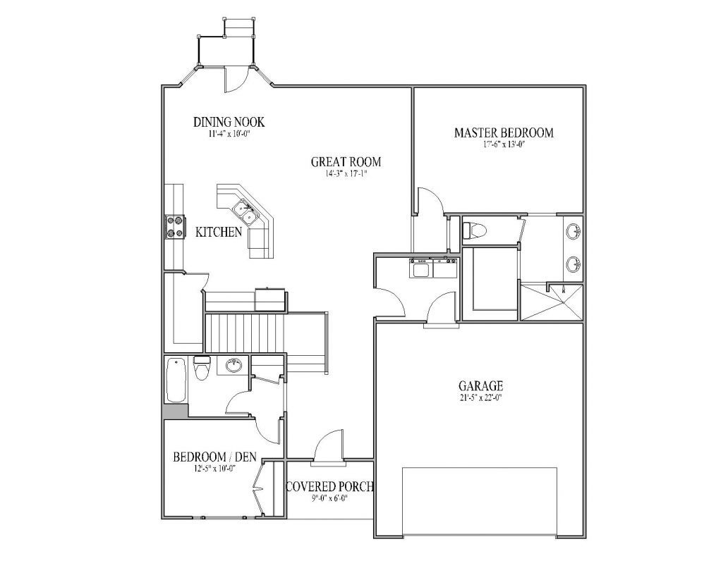 exceptional interior house plans #4: Small House Plans | The Carrera Floor Plan u2013 Signature Collection |  Pepperdign Homes
