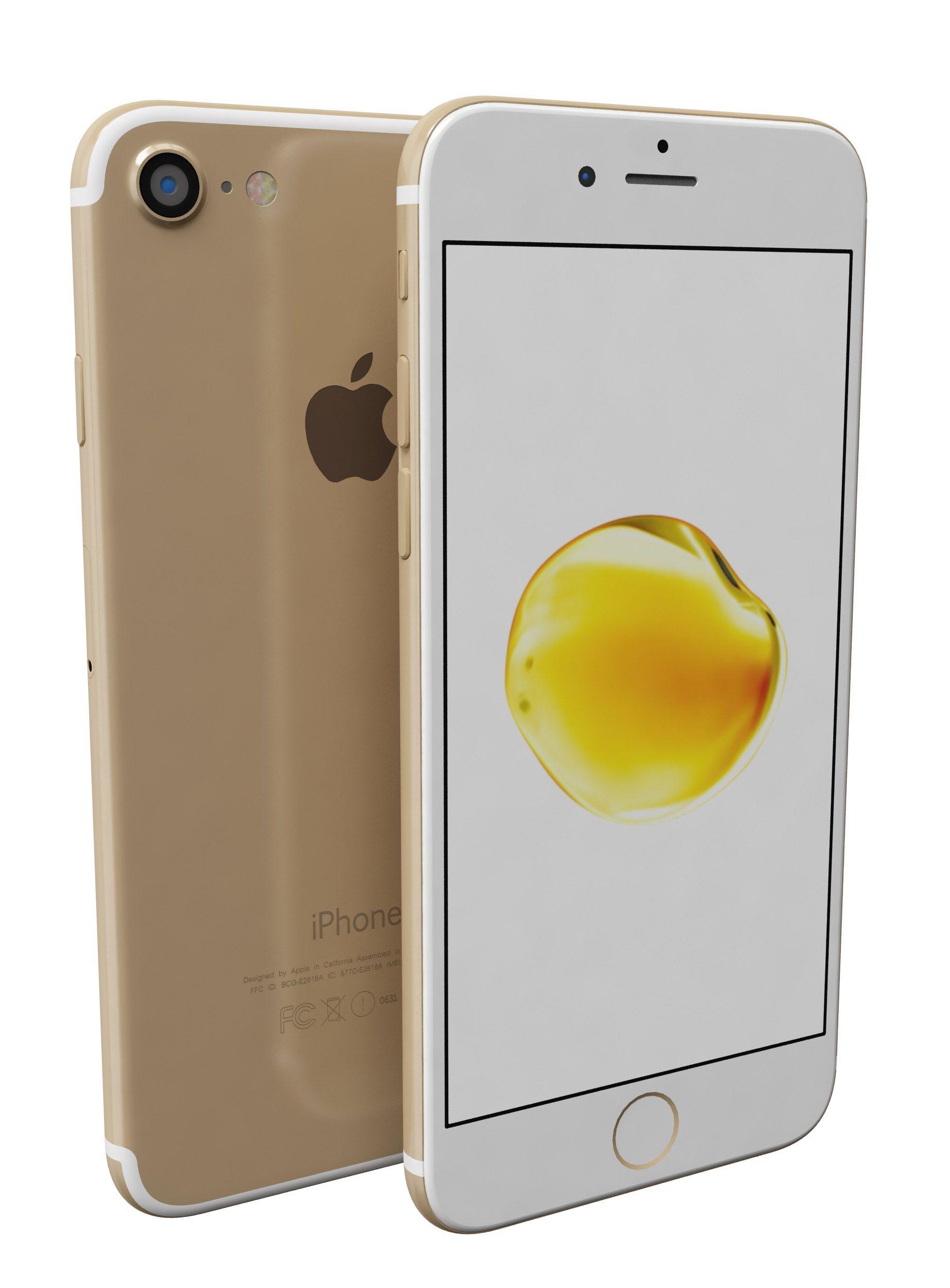 iPhone 7 3D Model iPhone, Model Iphone, Iphone 7, Buy