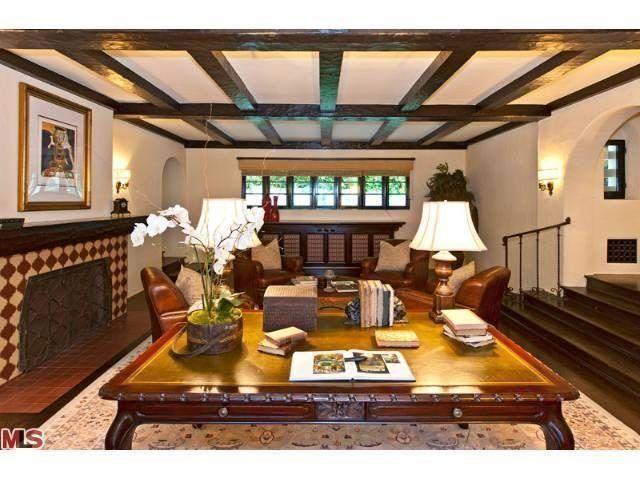 Bev Hills Wallace Neff House Owned By Betty Grable Diane Keaton - Table renaissance espagnole pour idees de deco de cuisine
