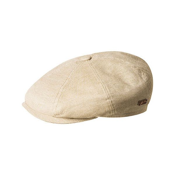 Bailey of Hollywood Men s Laden Flat Cap 90088 - Camel Newsboy Caps (6755  ... 905632735e8