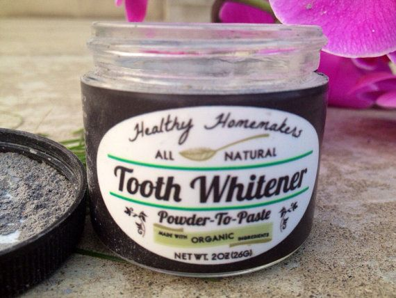 Dazzling Tooth Whitener Made with organic door HealthyHomemakers, $19.75