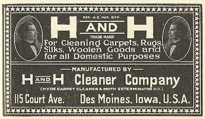 1921 Ad H And H Cleaner Company Vintage Ads Ads Cleaners