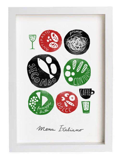 MENU ITALIANO 11 - italian menu