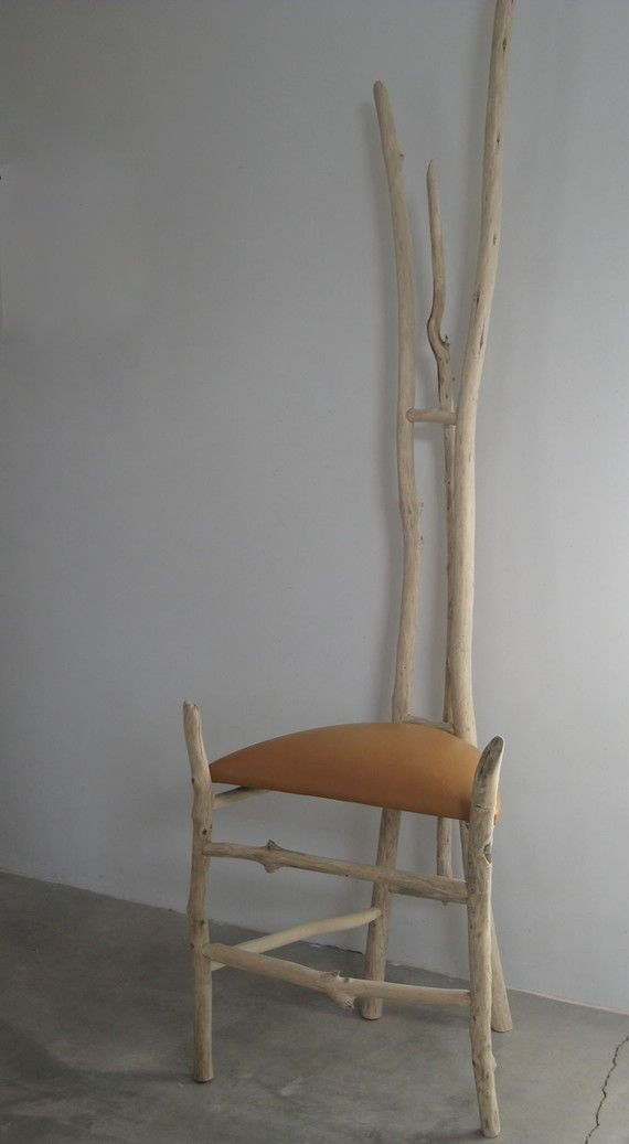 Modern Rustic Driftwood Chair Soaring By Santaferustic On Etsy
