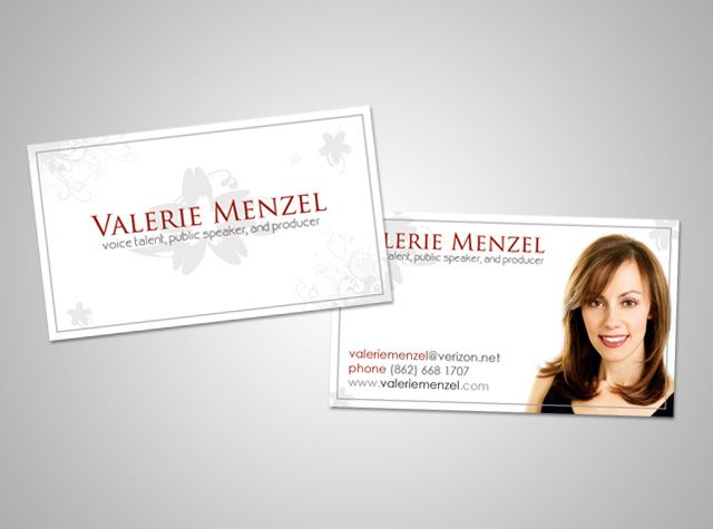 Classy Custom Actor Business Cards Businesscards