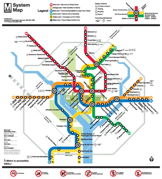 Dc Metro Map Green Line.Dc I Took The Yellow And Green Line Every Day Dc My Second