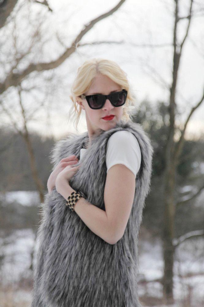 Fun Fur Day #forever21 #target #nicolemiller #jcp #victoriassecret #h&m #winterfashion