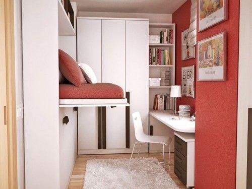 cmo aprovechar el espacio en una habitacin juvenil pequea habitacin juvenil pequea