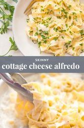 Cottage Cheese Alfredo