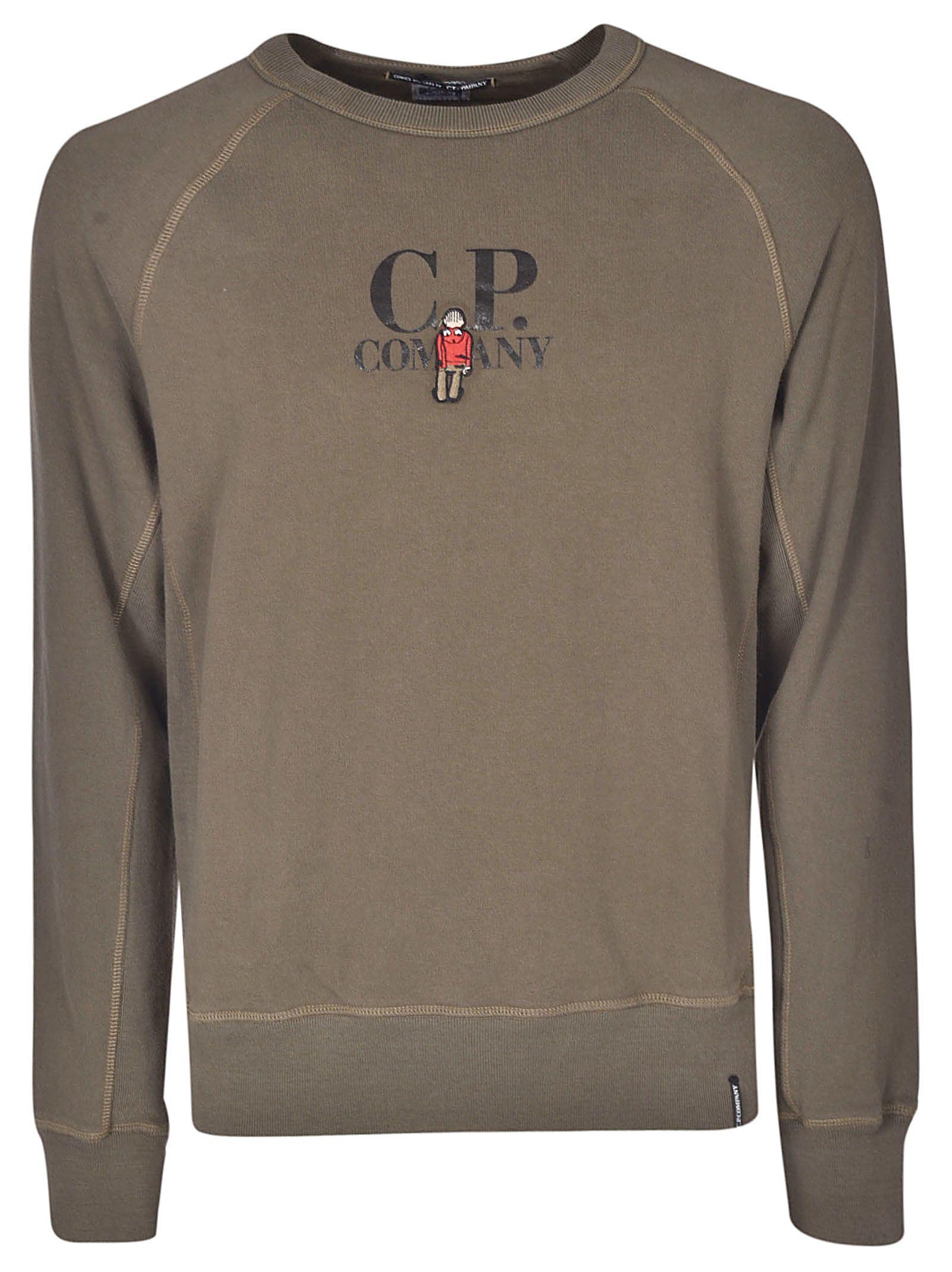 C.P. COMPANY C.P. COMPANY LOGO PRINT SWEATSHIRT.  c.p.company  cloth ... d5b9afca4787