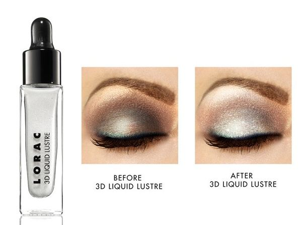Lorac 3D Liquid Lustre $16 at sephora A shimmering top coat for the