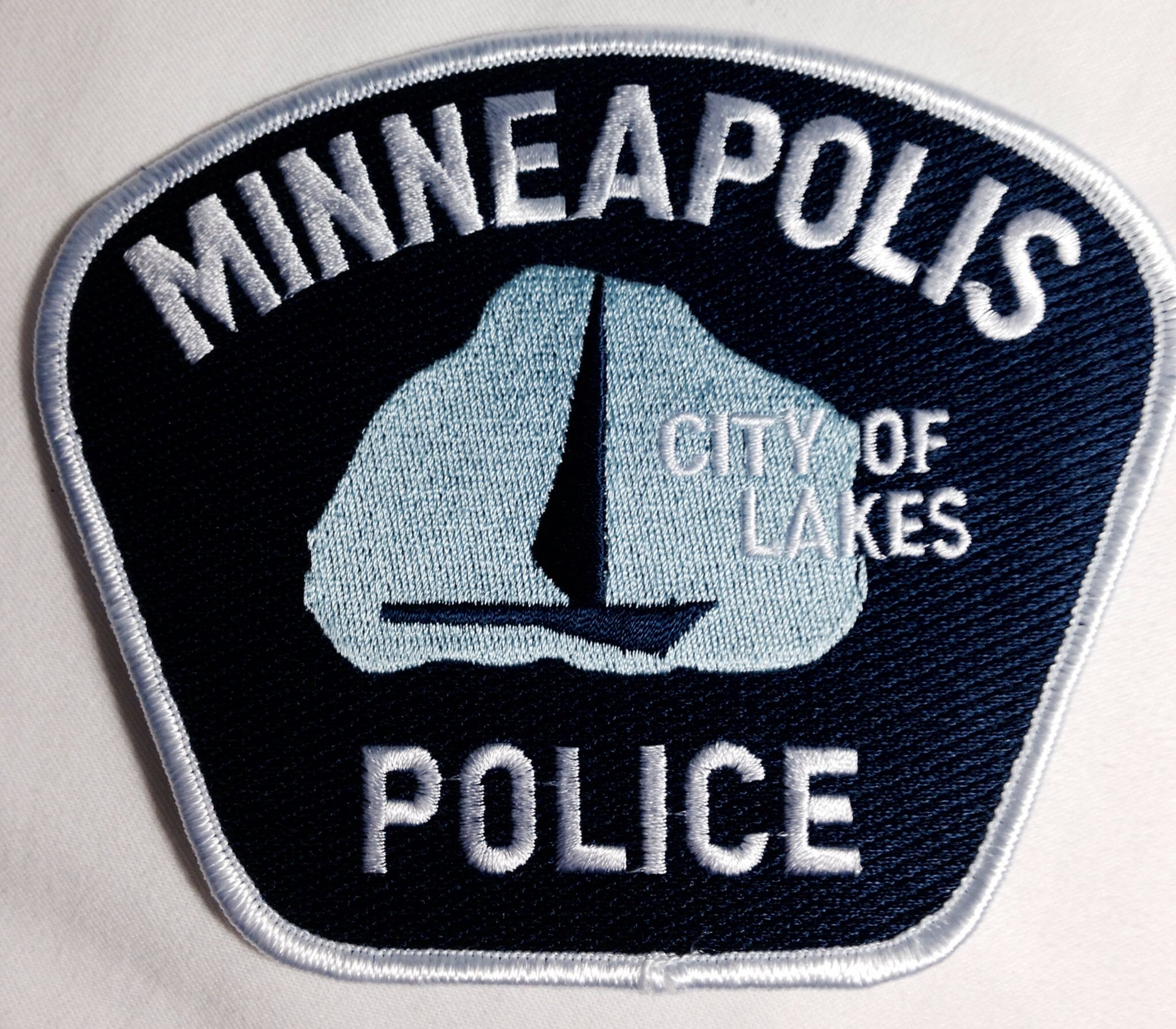 Minneapolis Police Department Police Badge Police Patches Police