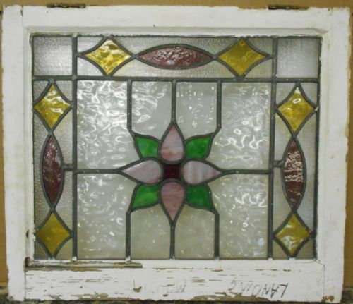 Antique Leaded Stained Glass Windows