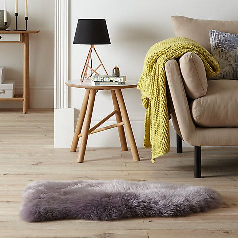 John Lewis Single Sheepskin Rug