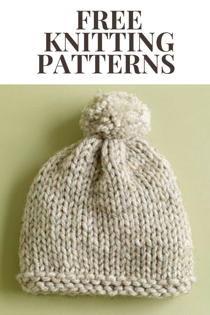 Free Knitting Patterns That Rock! | Baby hat | Pinterest | Bufandas ...
