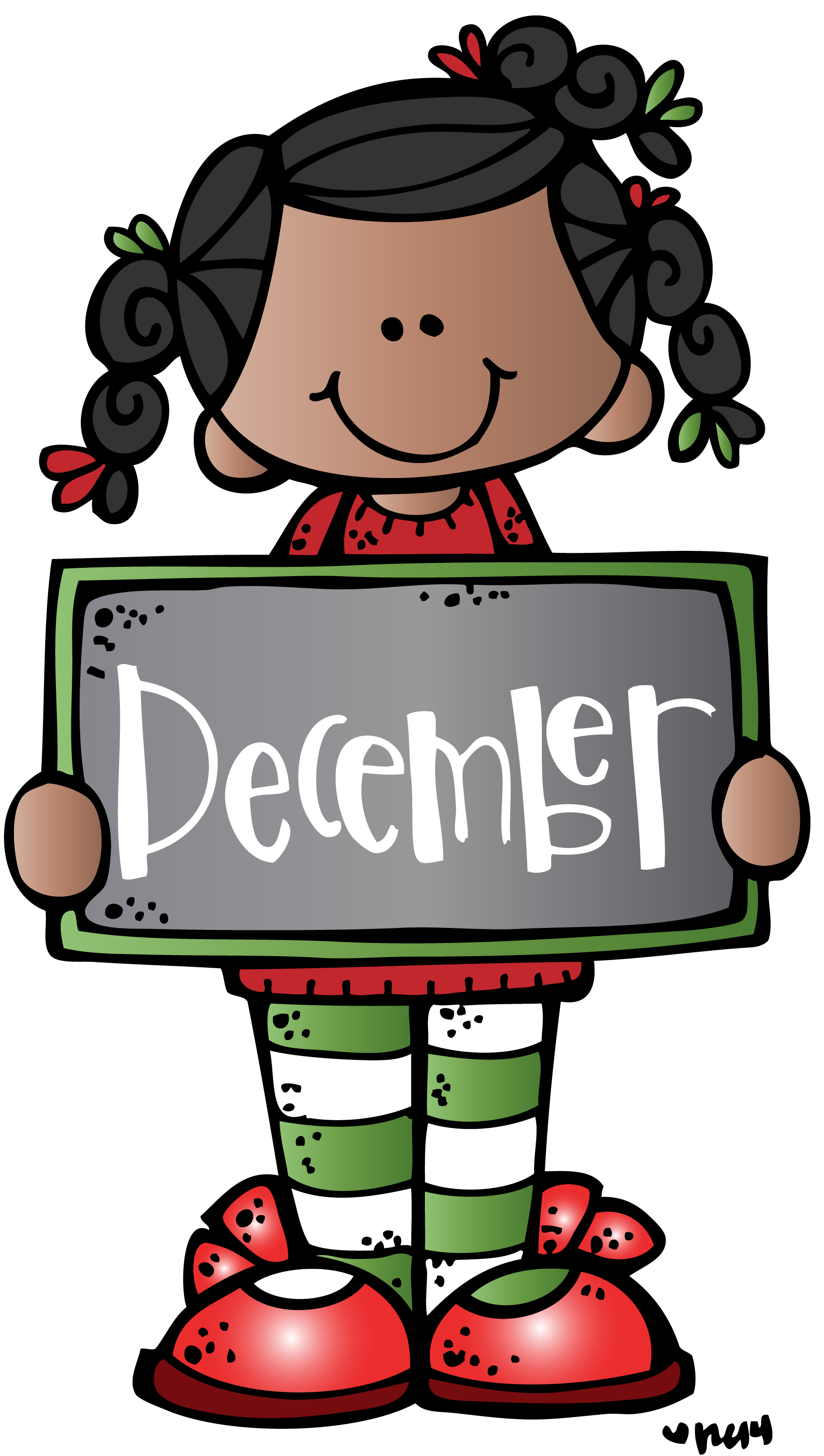 december mkb c melonheadz illustrating llc 2014 colored 1 png rh pinterest com december clip art images december clip art pictures free