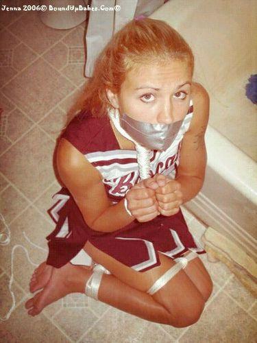 tied up Cheerleaders