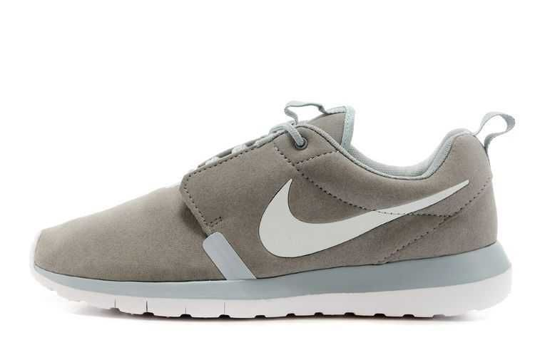 5249dd708340a Mens - Nike Roshe Run Anti Fur 3M Reflective Grey White