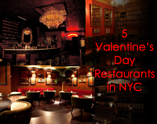 5 valentines day restaurants in nyc