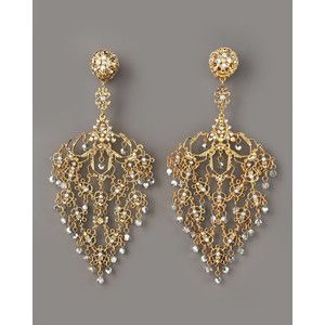 Gold Filigree Earrings Google Search
