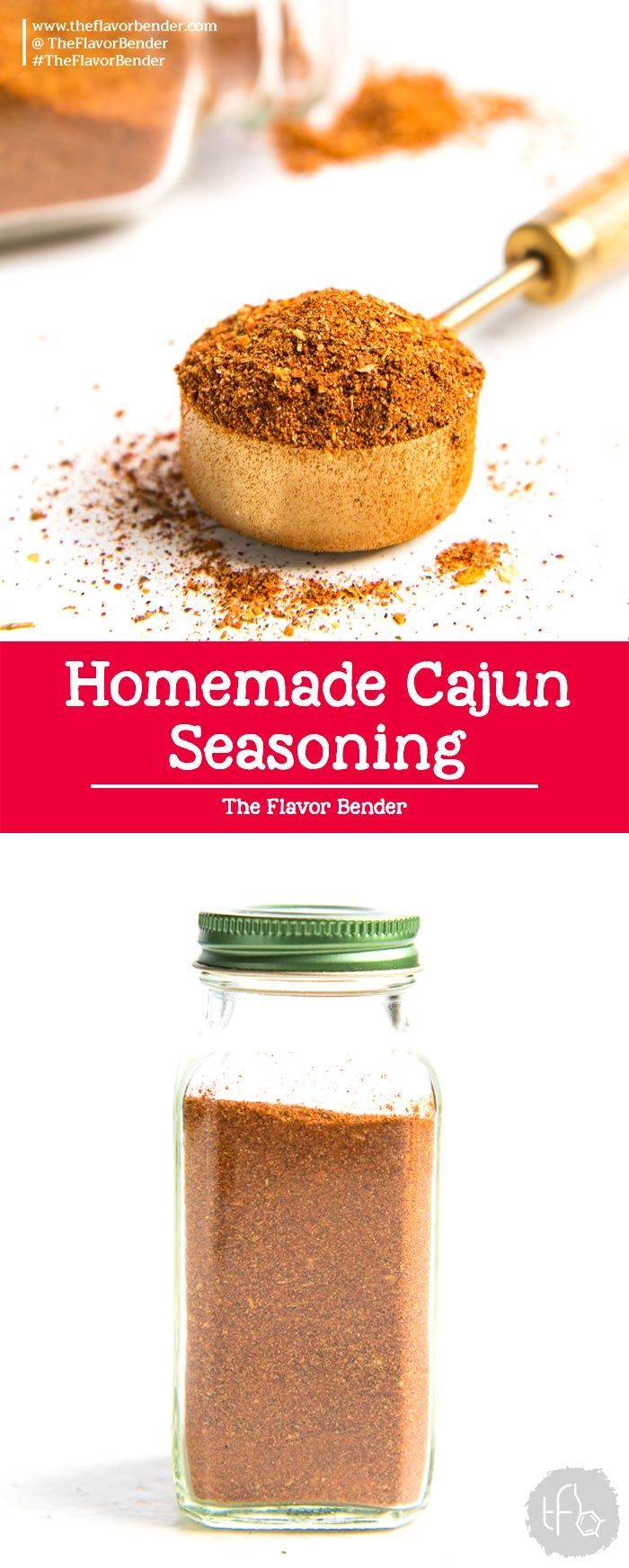 Cajun Seasoning Recipe - The Flavor Bender