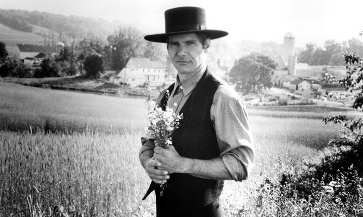 Harrison-Ford-Witness-Amish-hat-Flowers | Amish Country | Harrison