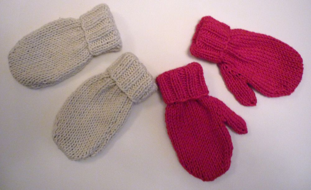 Mack and Mabel: Free Knitting Patterns includes mitten ...