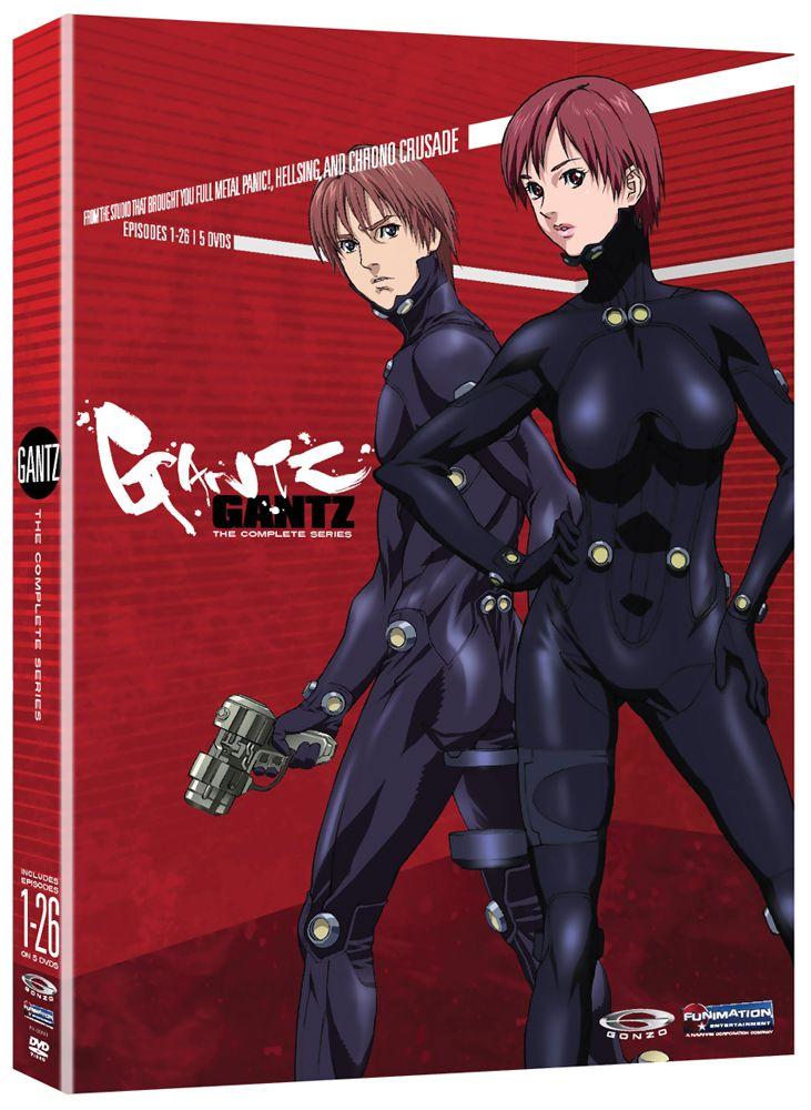 Gantz DVD Complete Series (Hyb) Anime Classics