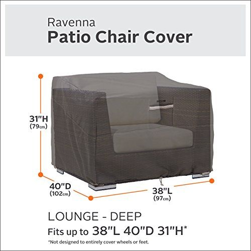 Outdoor Chair Classic Accessories Ravenna Deep Seated Patio