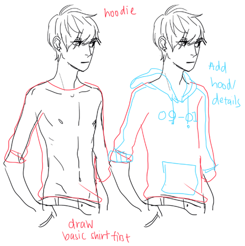 hoodie Drawing tips (Official Board) Pinterest