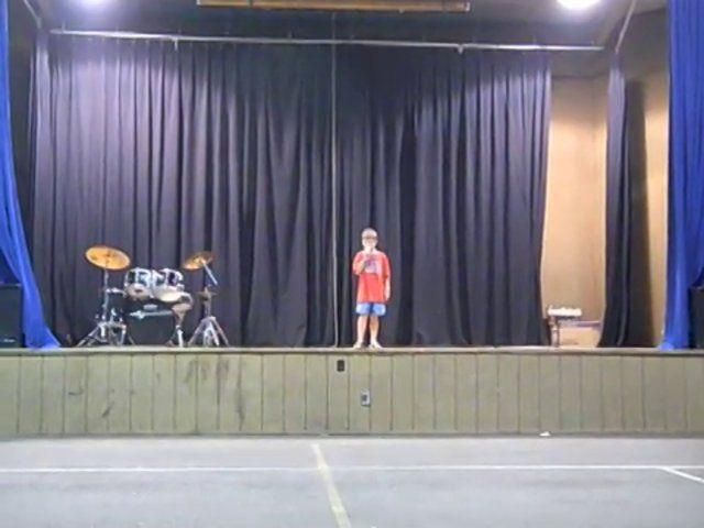 2013 1st Session Talent Show
