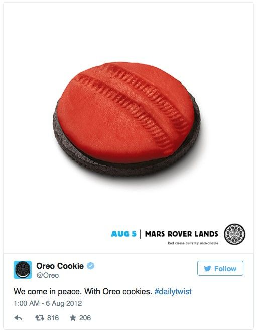 The Way The Social Cookie Crumbles: The Genius Of Oreo's Social Media Marketing