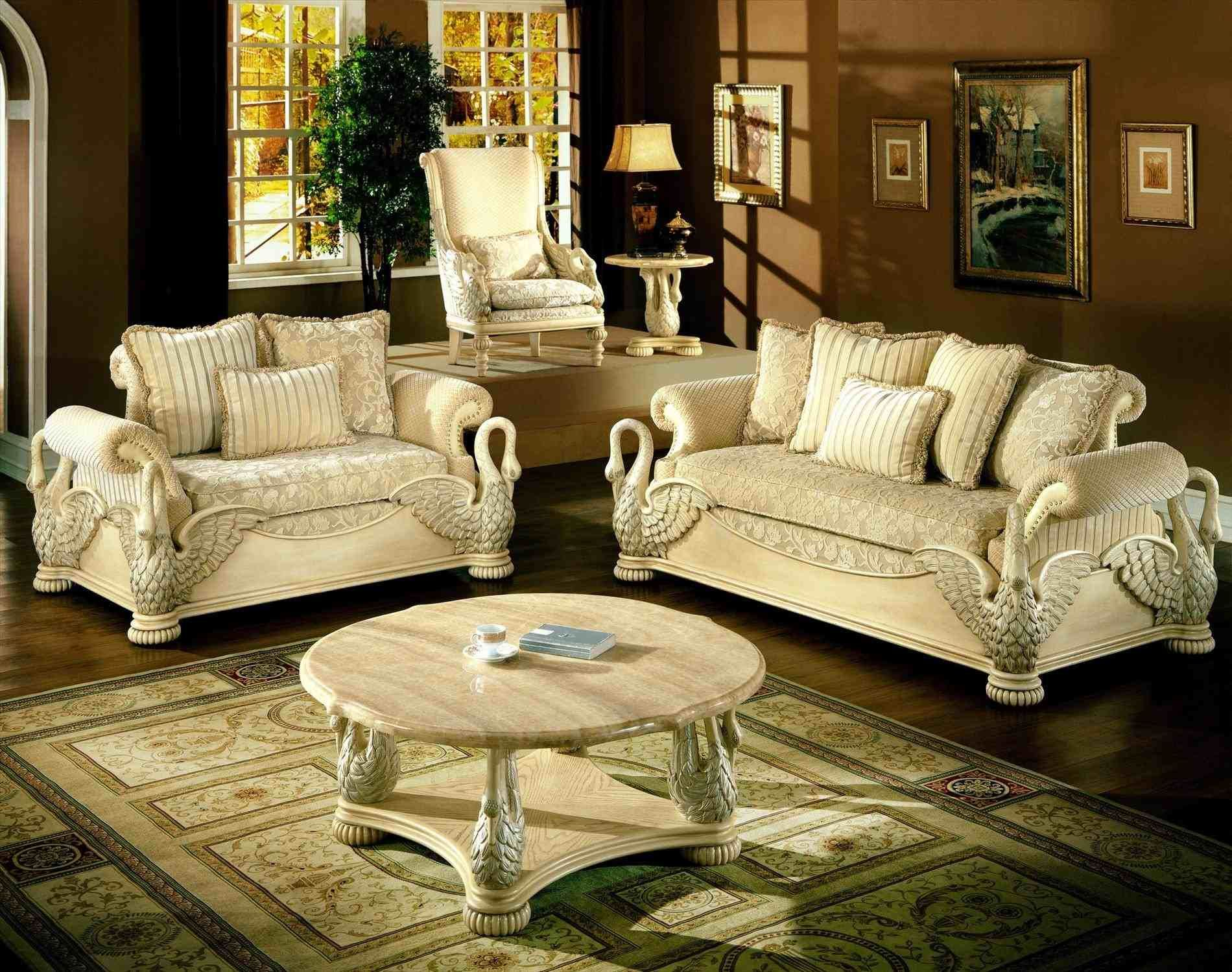 Antique white living room furniture in home ideas pinterest