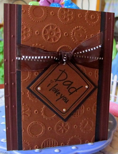 Card Making Ideas With Embossing Folders Part - 34: Darice Embossed Card Ideas | ... Embossing Folders, Card Making, Cuttlebug,