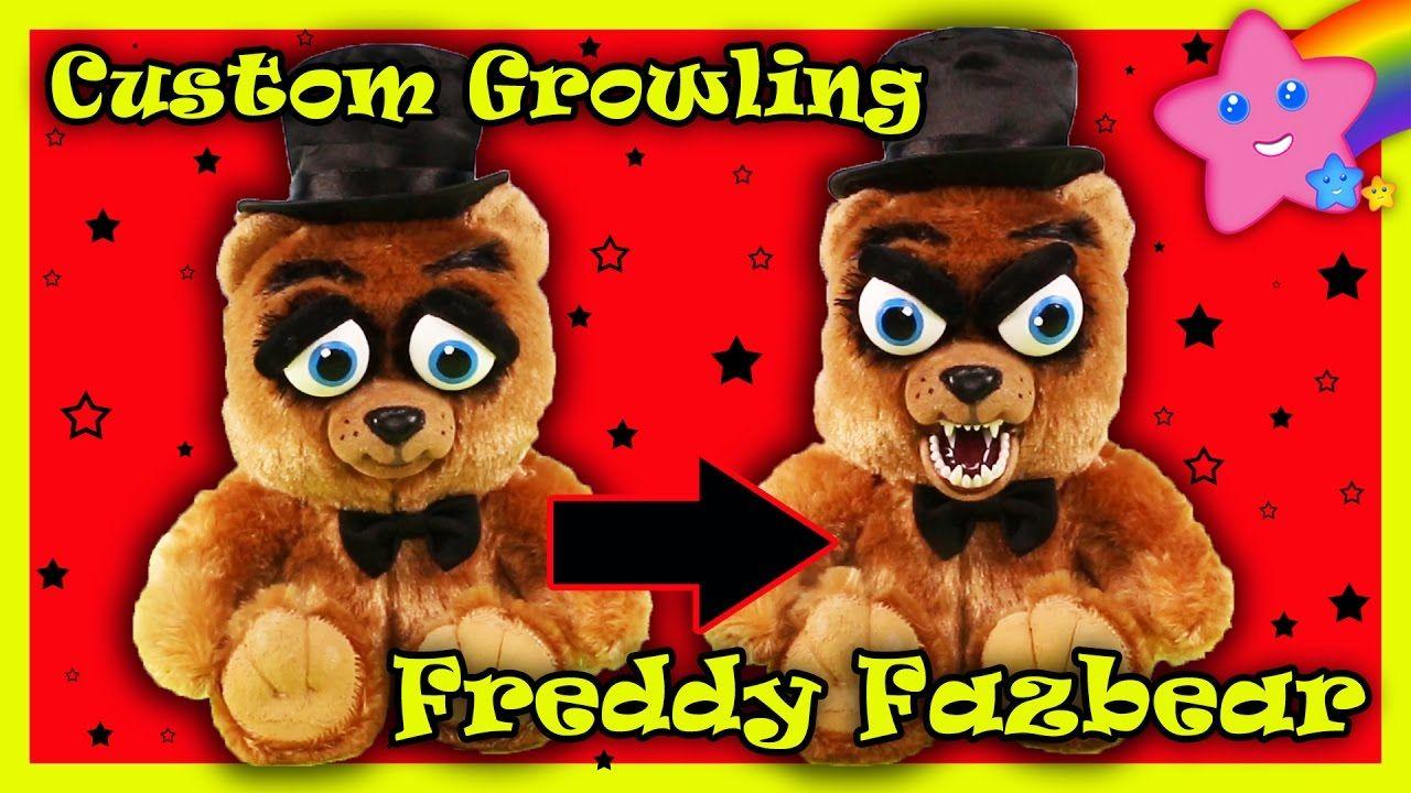 Custom Freddy Fazbear Growling William Mark Feisty Pets Five Nights At F Freddy Fazbear Teddy Bear Freddy