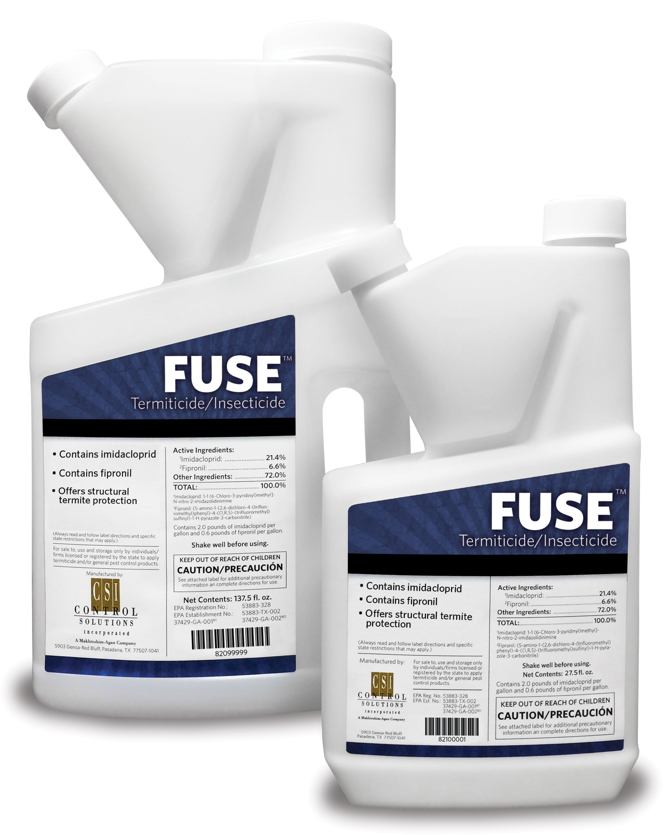 FUSE™ Termiticide/Insecticide is a new product that contains two