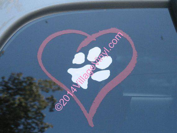 "Dog 5.75/"" I LOVE MY ROTTWEILER vinyl decal sticker.."