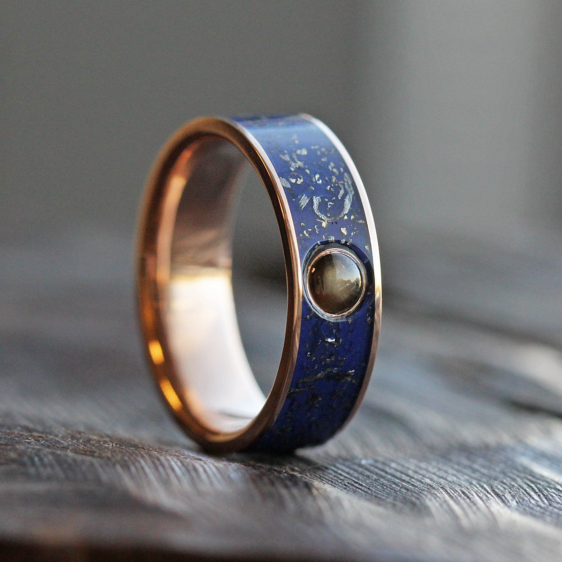 His engagement ring Blue rings, Sapphire wedding rings