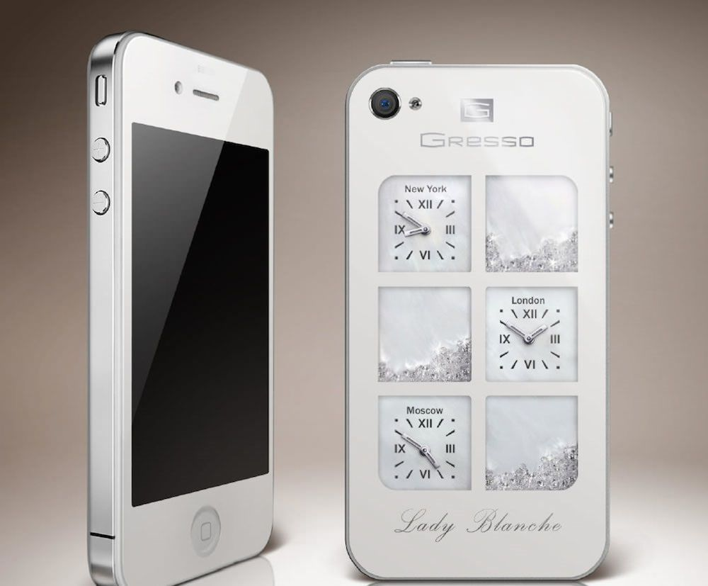 Lady Blanche iPhone 4   May 16, 2014   Price: $30,000