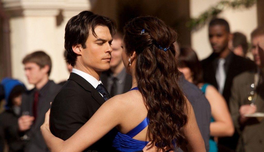 Elena Damon Dance The Vampire Diaries In 2019 Vampire Diaries