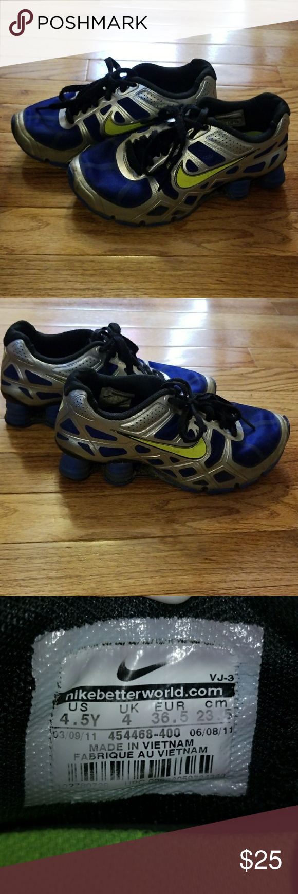 e81f313dcce ... best price youth boys nike shox size 4.5y youth boys nike shox size 4.5y