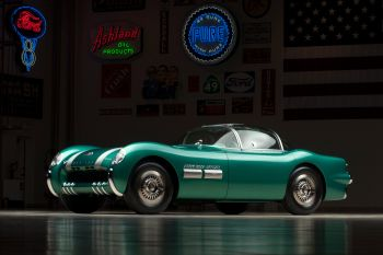 Pontiac Bonneville Special Concept Car '1954 Maintenance/restoration of old/vintage vehicles: the material for new cogs/casters/gears/pads could be cast polyamide which I (Cast polyamide) can produce. My contact: tatjana.alic@windowslive.com
