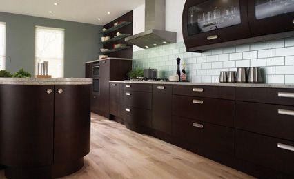 Best White Counter Dark Cabinet Light Floor Kitchen Cabinet 400 x 300