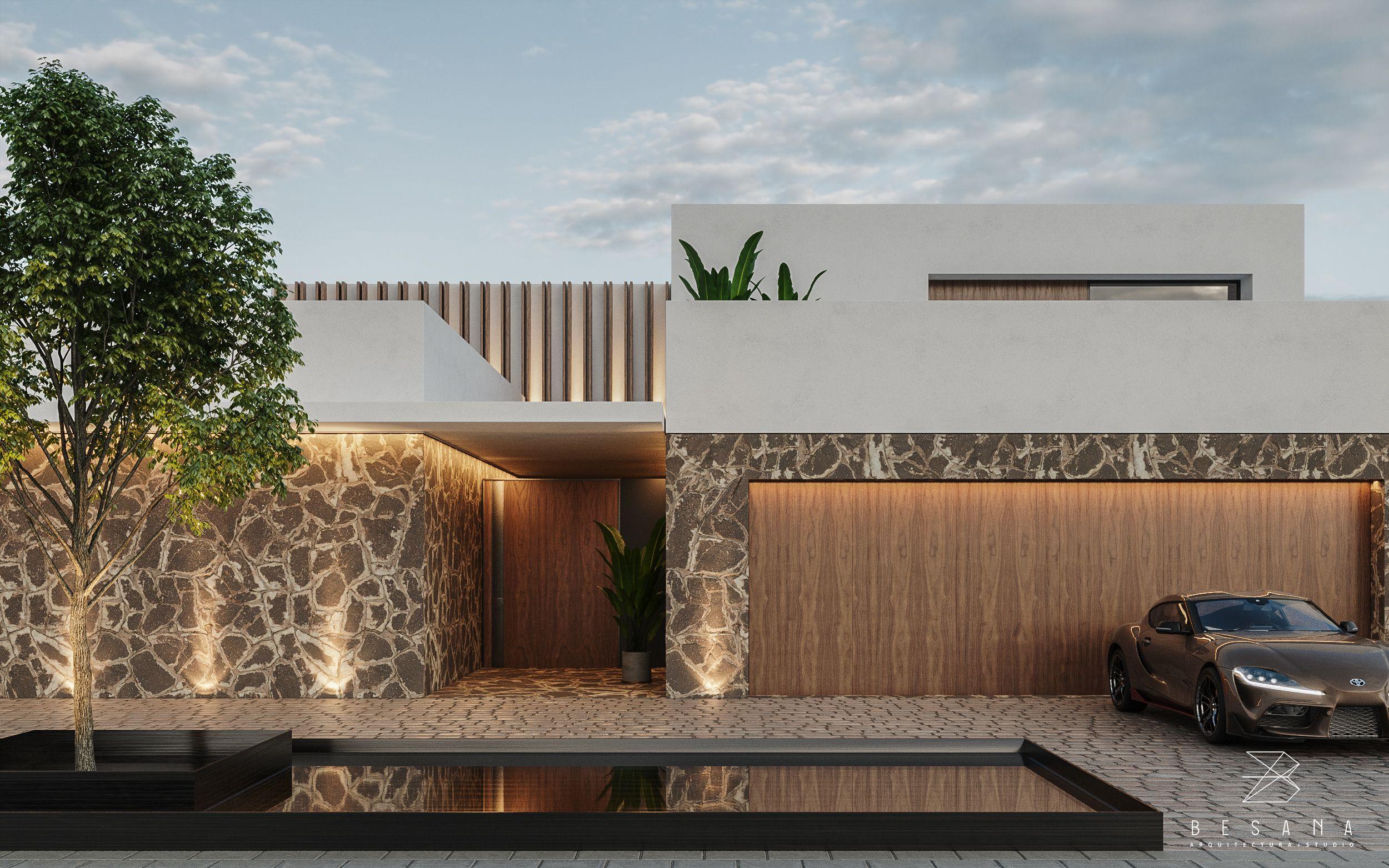 Jones House // By Besana Studio in 2020